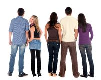 Casual group of people Stock Images