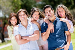 Casual group of people Royalty Free Stock Photos