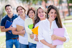 Casual group of students Stock Photography