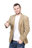 Casual guy Royalty Free Stock Photo