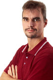 Casual Guy - Arms Crossed Royalty Free Stock Images