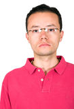 Casual guy's portrait with glasses Royalty Free Stock Photography