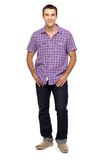 Casual guy standing Royalty Free Stock Photography