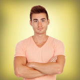 Casual handsome men Stock Photography