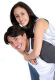 Casual happy friends Royalty Free Stock Photo