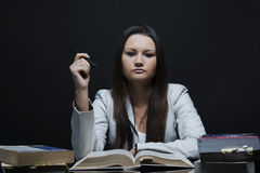 Casual high school student Royalty Free Stock Images