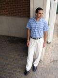 Casual hispanic male Royalty Free Stock Photography