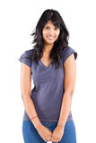 Casual indian woman Royalty Free Stock Photo