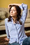 Casual indoor fashion Royalty Free Stock Images