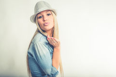 Casual jeans clothing Stock Photography