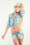 Casual jeans clothing Stock Photos