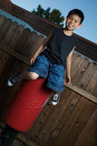 Casual kid Stock Image