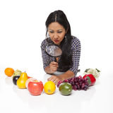 Casual Latina - produce selection Stock Image