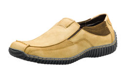 Casual leather men's shoe Stock Photo