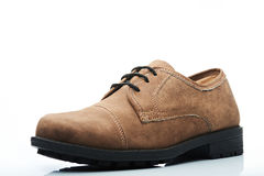 Casual leather men shoe Stock Photo
