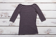 Casual long sleeve top. Royalty Free Stock Photography