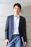 Casual Looking Asian Man stock image