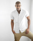 Casual male fashion royalty free stock photos
