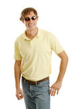 Casual Male in Shades Royalty Free Stock Photography