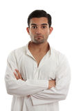 Casual man arms crossed Royalty Free Stock Photo