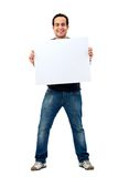 Casual man - banner ad Stock Image