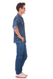 Casual man with hands on hips Royalty Free Stock Photography