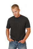 Casual Man with hands in pockets Stock Photography