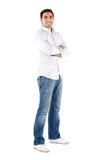 Casual man isolated Stock Photos
