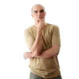 Casual man portrait Stock Images