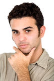Casual man portrait Stock Images