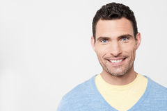 Casual man posing to camera stock photo