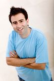 Casual man smiling Royalty Free Stock Photography
