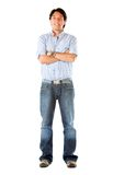 Casual man standing Royalty Free Stock Images
