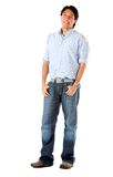 Casual man standing Royalty Free Stock Photo