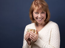 Casual mature woman Royalty Free Stock Photo