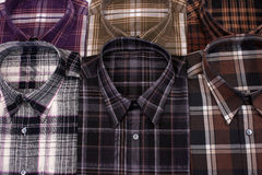 Casual men's shirt Royalty Free Stock Image