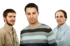 Casual men Royalty Free Stock Photography