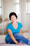 Casual middle aged woman Stock Images