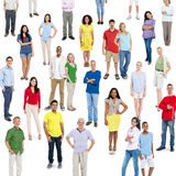 Casual Multi-Ethnic Group of People Royalty Free Stock Photo