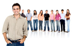 Casual people group Royalty Free Stock Photo