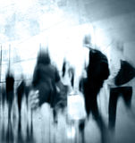 Casual People Rush Hour Walking Commuting City Concept Royalty Free Stock Photos