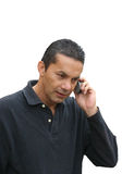 Casual phone call Royalty Free Stock Photos