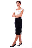 Casual portrait of young business woman Stock Photo
