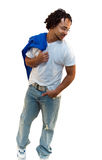 Casual Relaxed Stance stock photography
