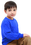 Casual School Boy royalty free stock images