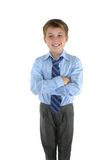 Casual Schoolboy Royalty Free Stock Images