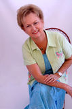 Casual senior woman Royalty Free Stock Photography