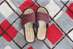 Casual shoes or Slippers for home use. Stock Photography