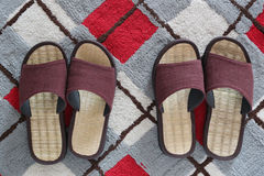 Casual shoes or Slippers for home use. Royalty Free Stock Image