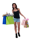 Casual Shopper Royalty Free Stock Photo